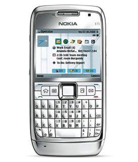 E71 Nokia NOKIA E71 SLIVER ( 128 MB , 512 MB ) Silver