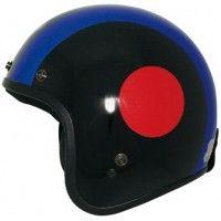 c463329b THH FH 375 Black Open Face Helmet [Standard Size : 57-59 cms]