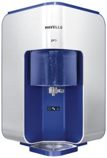 Havells Pro 8 L RO+UV Electric Water Purifier (Silver)