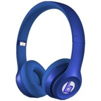 Swiss Beatz Premium Quality Solo2 S460 (STR-BLUE-LOGO) With Incoming Calling Button Facility Plus High Bass Sound -(L-76) Stereo Dynamic Wireless Bluetooth Headphones (Blue, Over the Ear)