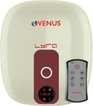 Venus 10 L Electric Water Geyser(IVORY, LYRA DIGITAL 10RD IVORY/WINERED)