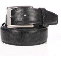 prada black leather belt boy