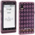 Amzer 85316 Hybrid Silicone Skin Jelly for Motorola Milestone A855 Case