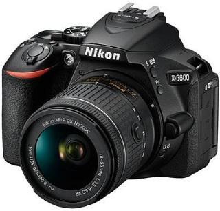 Nikon D5600 AFP 18-55 VR Camera Black