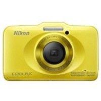 Nikon Coolpix S31 Point & Shoot Digital Camera Yellow