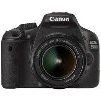 Canon EOS 550D DSLR Kit EF-S18-55mm IS Black
