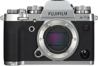 Fujifilm X-T3 Mirrorless Camera Body Only(Silver)