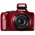 Canon PowerShot SX170 IS Point & Shoot Digital Camera Red