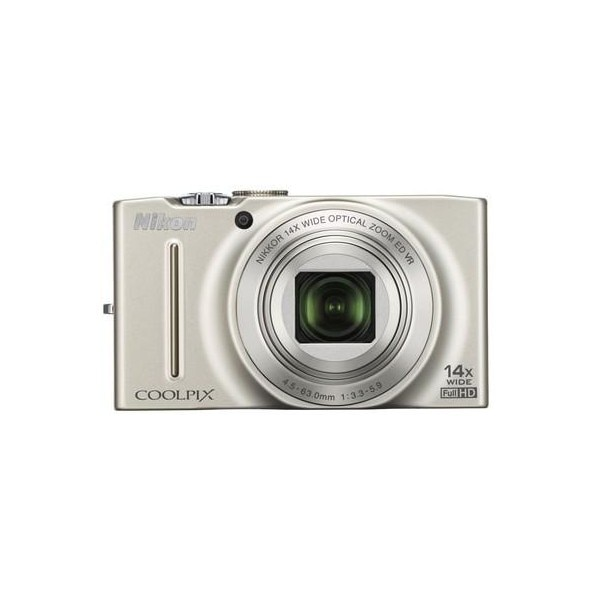 Nikon Coolpix S8200 Point & Shoot Camera Silver Price in India ...