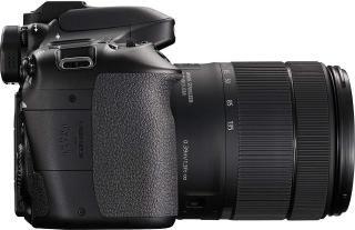 Canon EOS 80D 24.2MP Digital SLR Camera (Black) + EF-S 18-135mm f/3.5-5.6 Image Stabilization USM Lens Kit + 16GB Memory Card