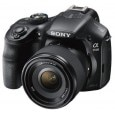 Sony Digital ILCE-3500JY E-mount 20.1 MP Camera (Black) with SEL50F18 Lens