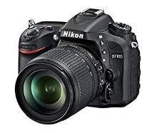 Nikon D7100 24.1MP Digital SLR Camera (Black) with AF-S 18-140mm VR II Kit Lens, card, Camera bag