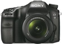 Sony ILCA-68K Mirrorless Camera with 18-55 mm Lens(Black)