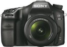 Sony ILCA-68K Mirrorless Camera with 18-55 mm Lens(Black)