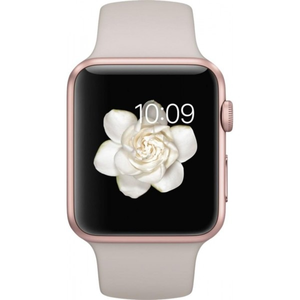 apple smart watch rose gold