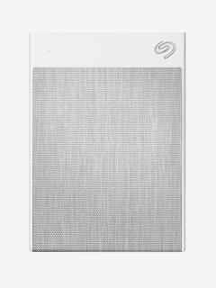 New Seagate 2TB Backup Plus Ultra Touch External Hard Drive with 2years Seagate Rescue Service White