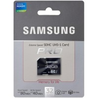 Samsung 32 जीबी SDHC Pro Class 10 (MB-Sजीबीजीबी) Memory Card