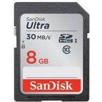SanDisk SDHC 8 जीबी 30 Class 10