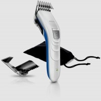 Philips Compact Corded & Cordless HPQ51-32 Clipper For Men (White)