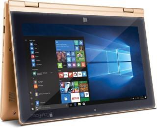 Iball (Atom Quad Core/2GB/32GB/Win 10/11.6 Inches) i360 2 in 1 LaptopGold