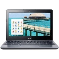 Acer C720 Chromebook Netbook (Celeron Dual Core 4th Gen/ 2GB/ 16GB/ Chrome OS) (NX.EESSI.002) (11.6 inch, Granite Grey)
