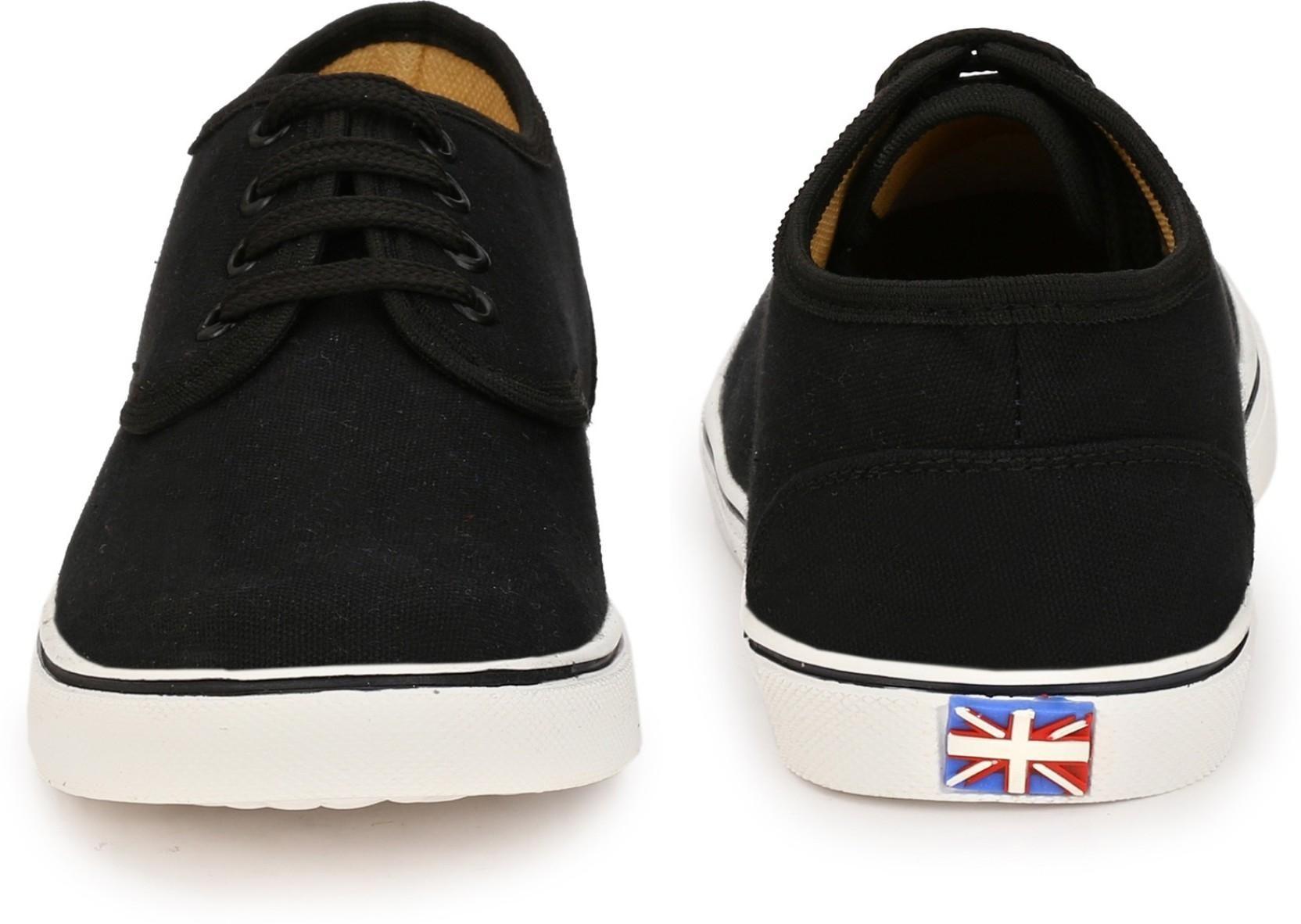 Big Fox Canvas Shoes(Black)