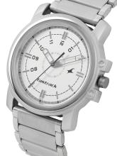 Fastrack Men Silver-Toned Analogue Watch NG3039SM01C_OR2