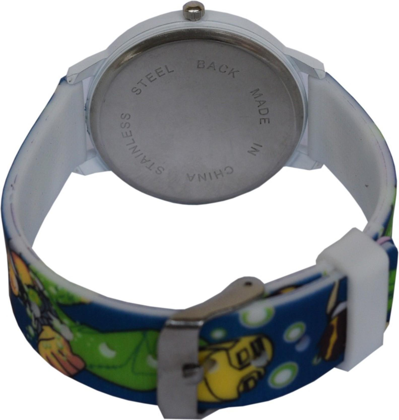 CREATOR Ben-10 New Round Dial 002- (sent as per available colour ) Fashion Watch - For Boys & Girls