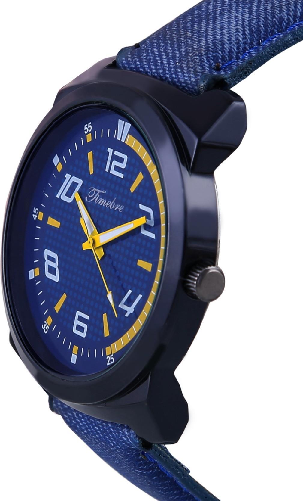 Timebre VBLU428-2 Denim Style Watch - For Men