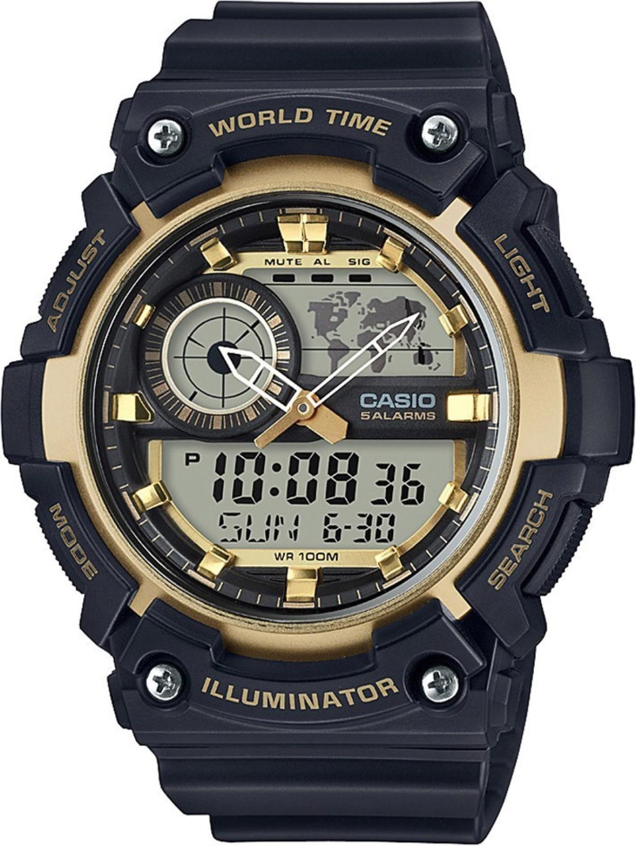 Casio AD212 Youth Combination Watch - For Men