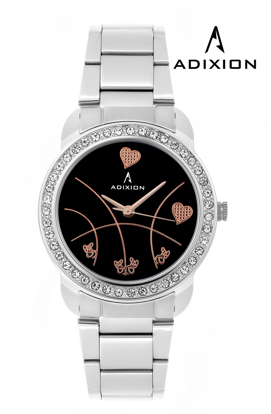 Adixion AD9404SM01C New Stainless Steel Watch - For Women