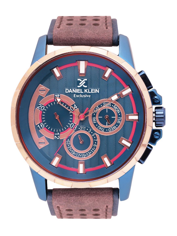 Daniel Klein Men Blue Analogue Watch DK11123-5