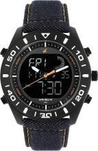 Fastrack 38034NL01 Denim Collection Analog-Digital Watch - For Men