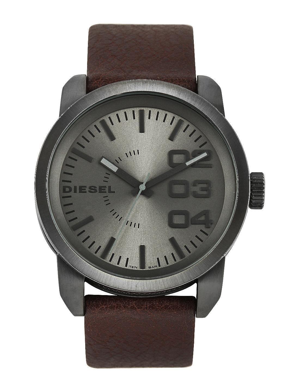 DIESEL Men Gunmetal-Toned Dial Watch DZ1467I