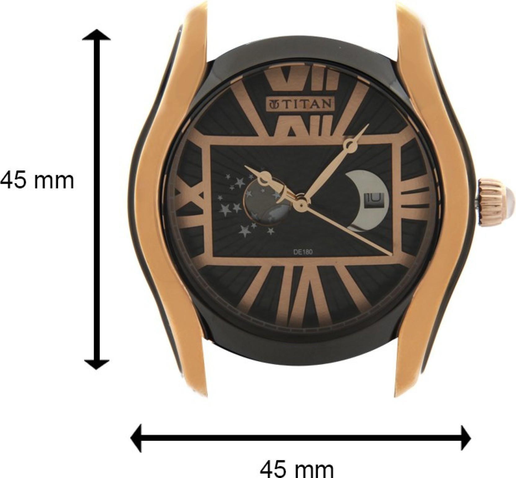 Titan 1665KL02 Celestial Watch - For Men