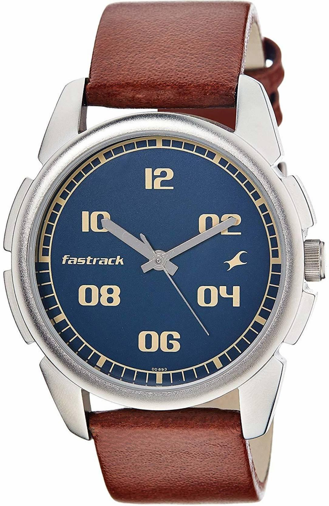 FastrackNG3124SL02 Bare Basic Analog Watch - For Men