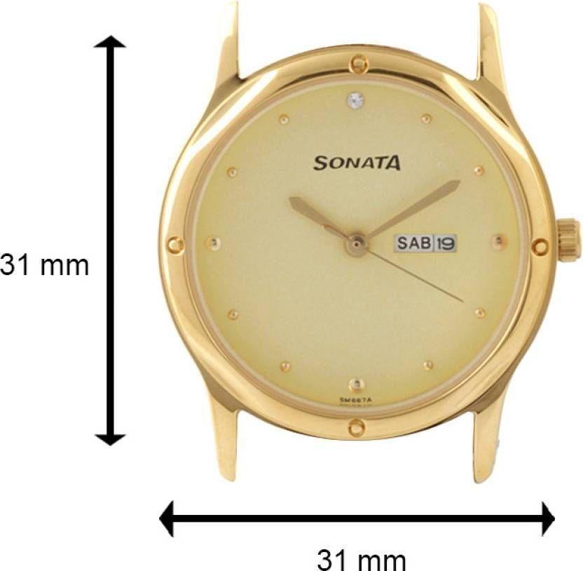 Sonata 7023YM09 Men's Watch