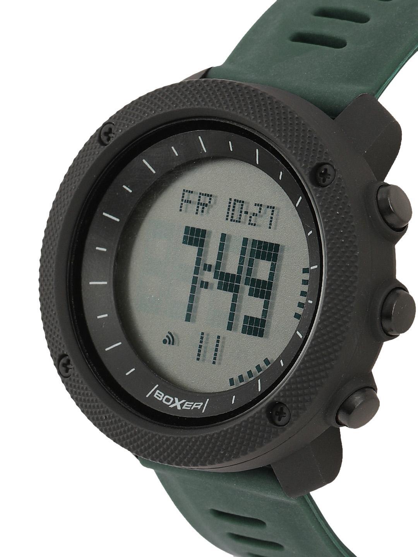BOXER Unisex Black Digital Watch BXR034