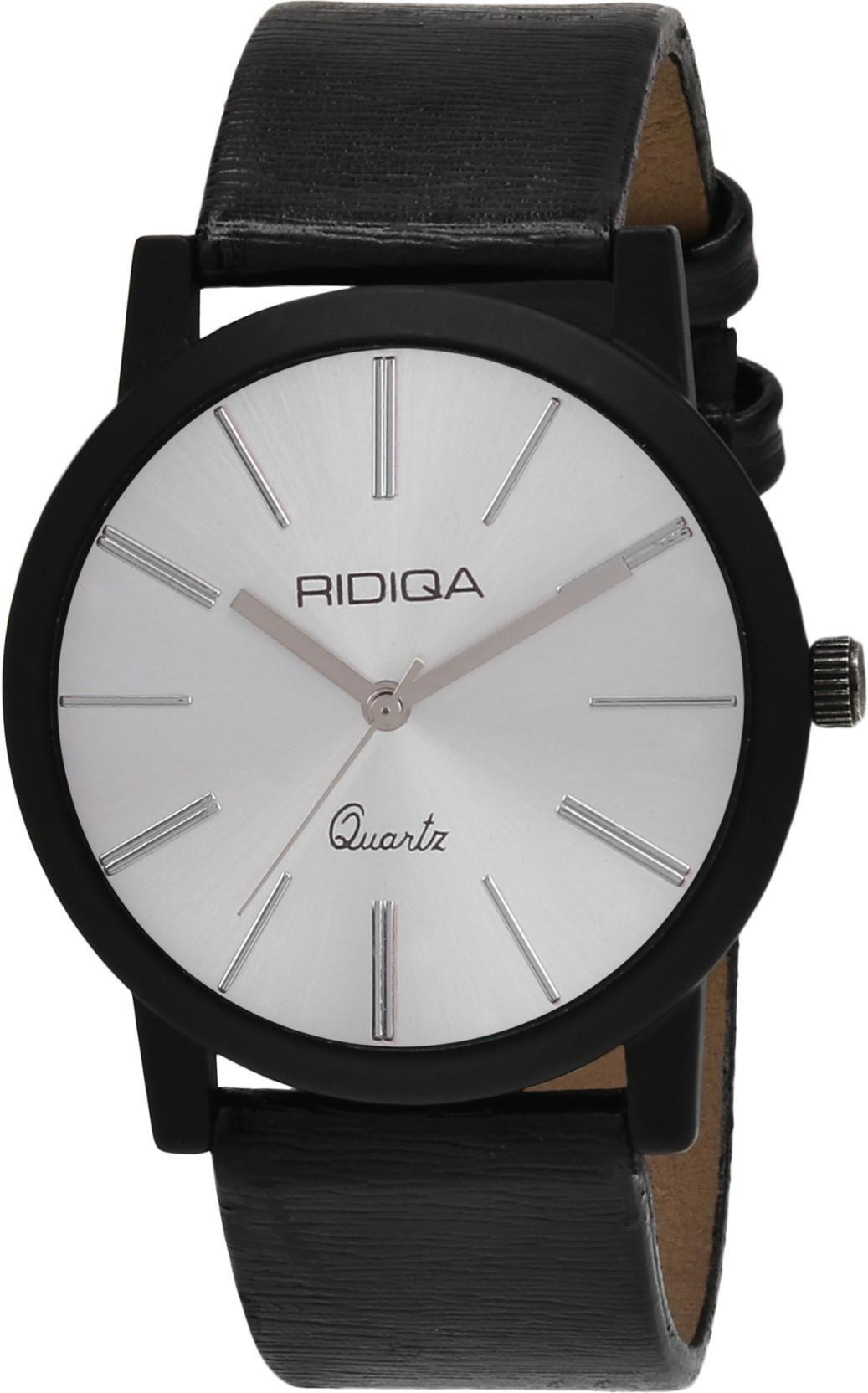 RIDIQA RIDIQA Edge Analog White Dial Slim Men's Watch-RD-45 Watch - For Boys