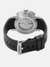 TISSOT Men Navy Blue Seastar 1000 Powermatic 80 Swiss Automatic Analogue Watch T1204071704100
