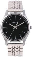 Sonata 77082SM01 Essentials Analog Watch - For Men