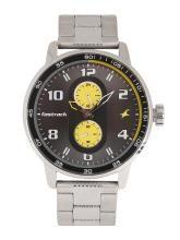 Fastrack Men Grey Analogue Watch NK3159SM02
