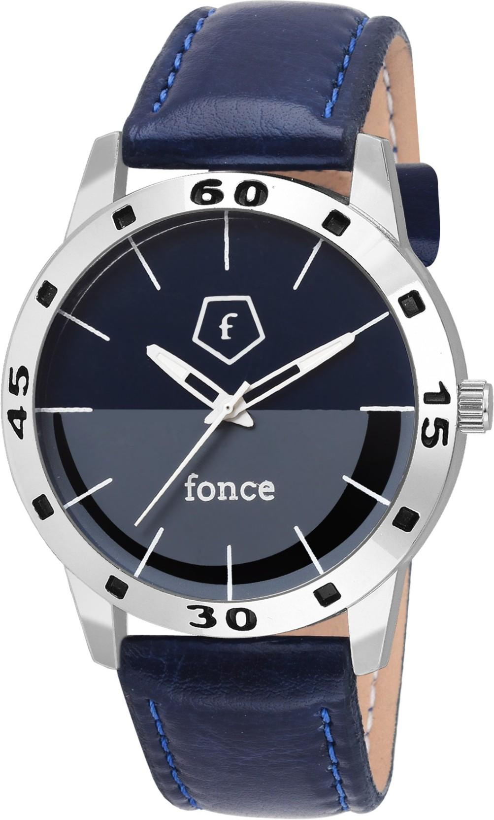 Fonce Blue Dial analog Watch - For Boys