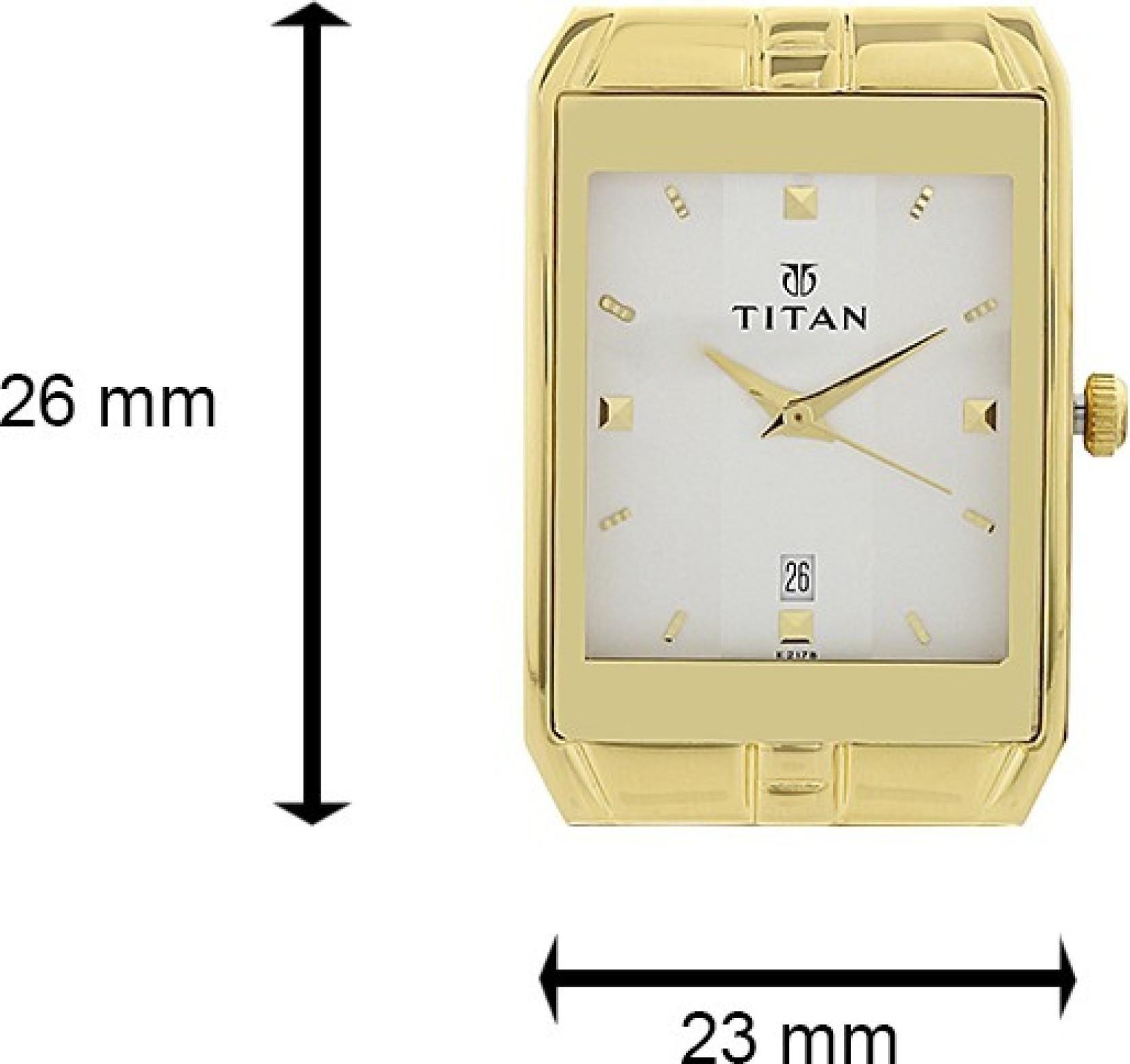 Titan NH9151YM01A Watch - For Men
