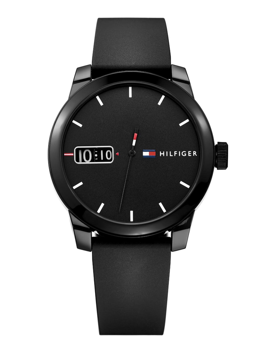 Tommy Hilfiger Men Black Analogue Watch TH1791382