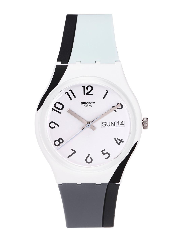 Swatch Unisex White Swiss Made Analogue Watch GW711