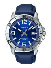 CASIO Men Blue Analogue Watch A1737