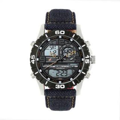 Fastrack 38035SL06 Denim Collection Analog-Digital Watch - For Men