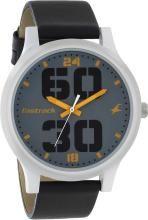 Fastrack 38051SL03 Bold Fonts Analog Watch - For Men