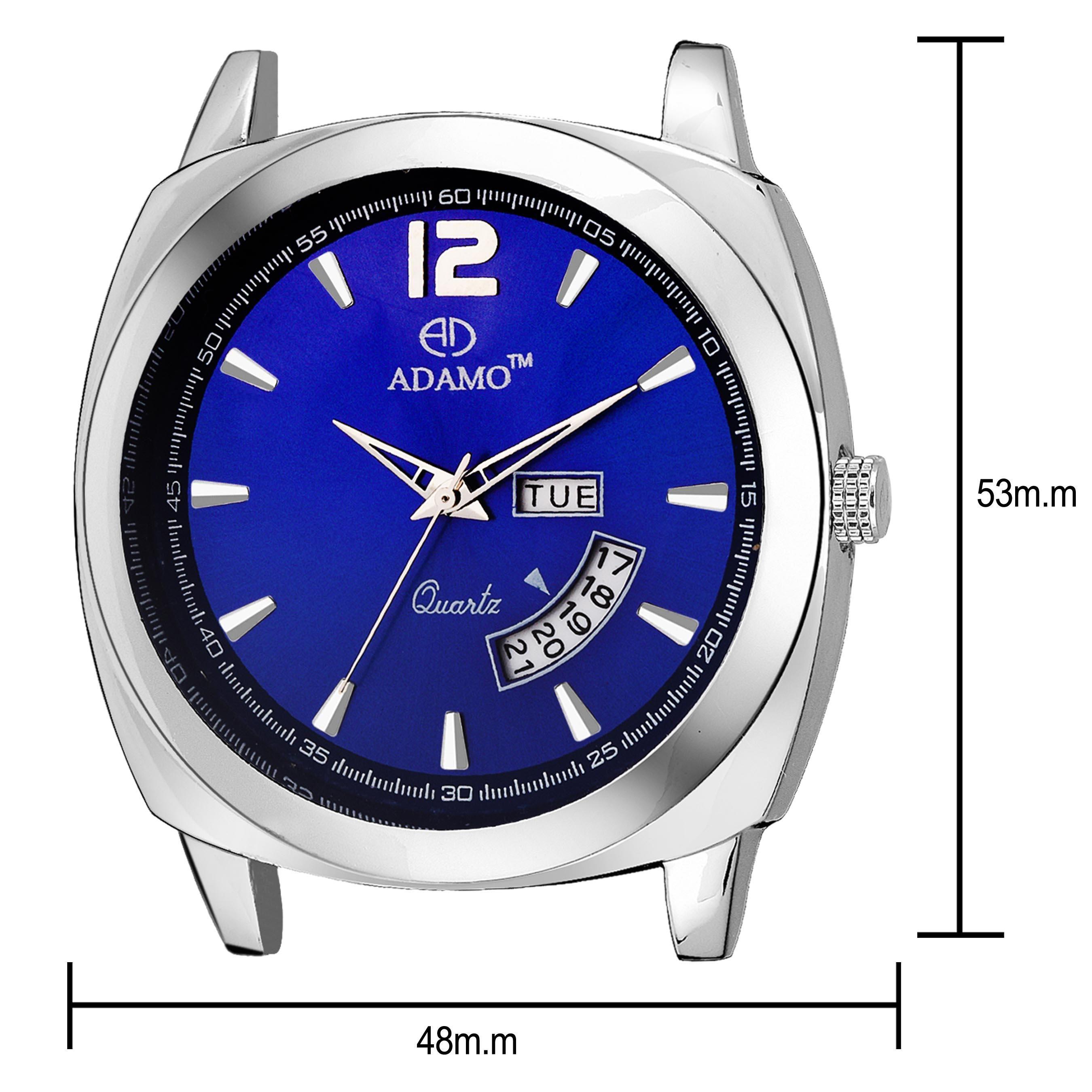ADAMO Geneva Men's Wrist Watch A331SB05